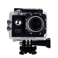 жк-экран для камеры шлема оптовых-2-дюймовый ЖК-экран мини-Спортивная камера 1080P Full HD Action Camera 30M водонепроницаемые видеокамеры шлем спорт DV