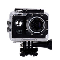 Wholesale hiking camera - 2 Inch LCD Screen mini Sports camera P Full HD Action Camera M Waterproof Camcorders Helmet sport DV