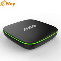 2017 más barato R69 Android 4.4 TV Box Allwinner H2 Quad Core WIFI 4K Google Mejor Smart TV Box Iptv Set Top CAJA