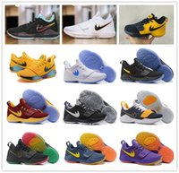 Wholesale Shining Pu Leather - 2017 Top quality Paul George PG1 Shining Ferocity Men's Basketball Shoes for Cheap Sale PG 1 Los Angeles Home Sports Sneakers Size 40-46