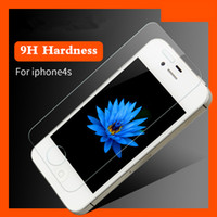 Wholesale Iphone4s Front Glass - for iPhone Touch Film Touch Tempered-Glass Privacy Screen Protector for All Kinds of Smart Phone Response Iphone4S toughened glass membrane