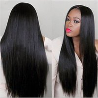 Wholesale Wigs Wholesale Prices - Wholesale Price Silky Straight Human Hair Full Lace Wigs human hair wigs long straight wigs for women bea420