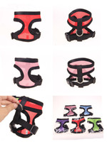 Brand new Pet dog Nylon Mesh Harness Strap Vest Collar Petite taille moyenne Dog Puppy Comfort Harness 8 couleurs