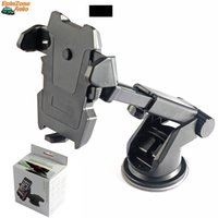 ABS,Silica Gel,Aluminium Alloy black sucker - 360 Degree Ratation Long Neck Arm Sucker Mount Suction Cup Mobile Phone Holder Auto Car Universal Cell Phone Stand For iPhone Samsung