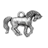Wholesale Duck Plate - Single Sided Metal Lovely Horse & Horse Pendant & Duck Animals Charms Zinc Alloy Pendant For Diy Jewelry Making
