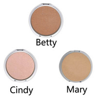 Wholesale Mary Cosmetics - Hot Makeup Mary-Lou   Betty-Lou   Cindy-Lou Manizer Highlight Shimmer Face Pressed Powder Foundation Palette Cosmetic freeshipping