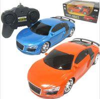 Wholesale Drift Model Cars - Wholesale- car model high speed drift car model 4 Channels remote car light children classic gift RC Cars toy