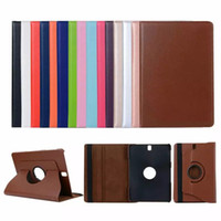 """Wholesale Smart Cover For Galaxy S3 - Tab S3 9.7"""" Tablet case magnetic 360 degree Stand Folding Smart PU Leather Cover for Samsung Galaxy Tab S3 T820 T825"""