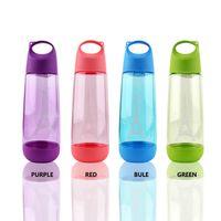 çocuklar için plastik su şişeleri toptan satış-Plastik Uzay Fincan Şeker Renk Eyfel Kulesi Filtre Su Şişeleri Çocuk Açık Havada Drinkware Direnci Güz 4 9hy C R