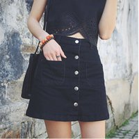 Canada Womens Black Denim Skirt Supply, Womens Black Denim Skirt ...