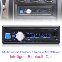 12V Bluetooth Car Rádio Player Estéreo FM MP3 USB SD AUX Áudio Auto Eletrônica autoradio 1 DIN CAU_01J