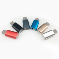 Wholesale Mini Usb Cable Female Connector - Type-C USB Adapter Male to Micro Female Mini Connector Convert for LG G5 Moto Huawei Samsung Galaxy Smartphone