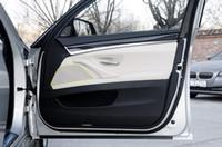 Wholesale Speakers Series - Aluminium alloy Car styling Door Audio Speaker net decoration auto interior Althorn trim 3D stickers for BMW 5 series 11-15