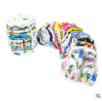 0-24 Months owl swimming - One Size Adjustable Swim Diaper Pool Pants Animal Owl Frog Robot Pattern Swim Diaper Baby Reusable Washable Cartoon Pool Cover Years