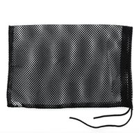 Wholesale Carry Golf Bags - Wholesale- Black Nylon Mesh Bag Pouch Golf Tennis 48 Balls Carrying Holder Hold Ball Storage Training Aid Durable