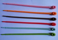ingrosso cravatta di pane-Fascette in silicone per alimenti, fascette per cavi, fascette per cerniere Tie per tutti gli usi Multi-uso