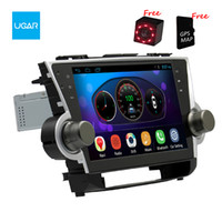 Wholesale multimedia player toyota resale online - 10 inch Toyota Highlander Kluger Quad Core Android Car GPS Navigation Multimedia Player Radio Wifi