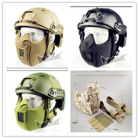 Wholesale Tactical combat readiness cs field tactics necessary equipment manufacturers selling outdoor reality mask New product from mask