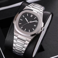 Wholesale Mens Watched - 2017 new arrivel siliver mens luxury brand watches 5 colors automatic movement sapphire glass watches aaa quality replica wristwatch