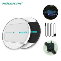 Wholesale Nillkin Blackberry - Nillkin Magic Disk II QI Fast Charging Intelligent Wireless quick Charger For Samsung Galaxy S6 Edge Note 5 For Nokia HTC iPhone