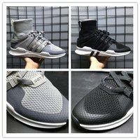 Wholesale Womens Hiking Socks Black - EQT IPMENT SUPPORT ADV High Ankle Boost Sock Primeknit Zebra White Black running shoes for Womens Mens eqt shoes for sale size 36-45
