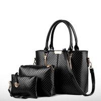 Wholesale United Chocolate - Wholesale lady handbag Europe and the United States Messenger One shoulder Handbag 9 color Free shipping
