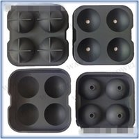Wholesale upgraded stocks - Silicone Ice Hockey Mould Four Hole Hockey Waterproof Round Upgraded Version Lattice Durable Popular And Colorful Molds 5 5ww
