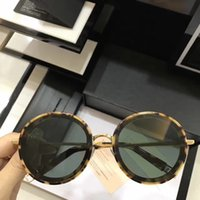 Wholesale Pink Whips - women men THE WHIP OC2 GOLD round Sunglasses UV Protection unisex Vintage Sunglasses Designer Sunglasses Brand New with Box