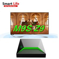 10 Stück Android Smart TV Box M9S Z9 S912 Octa Core CPU 2G + 16G Android6.0 5G Wifi Bluetooth 4K Media Player Center voll Spiele SportsDevil
