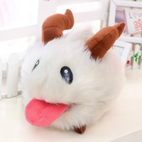 Wholesale Cute Teddy Bears Gifts - New LOL Poro plush toy Poro Doll Legal Edition High quality 25 cm 1pcs SUPER CUTE& SOFT &HIGH QUALITY Kids Toys Gift