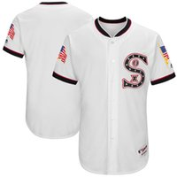 Wholesale Woman S Back - Custom Men's Women Youth Chicago White Sox Majestic White 1917 Turn Back the Clock Authentic Team Jersey Size S-6XL