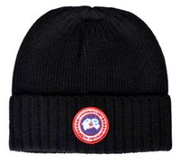 Wholesale Silk Twill Branded - hot Top quality fashion brand Canada men knitted hat classical sports skull caps women Winter beanies touca gorro Bonnet new color to choose