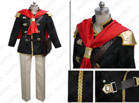 Wholesale Type Male Costumes - Final Fantasy Type-0 Final Fantasy Agito XIII Ace Cosplay Costume