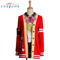 Love Live LoveLive! San Valentino Eli Ayase Uniform Anime Halloween Costumi Cosplay Per le donne Giacca su misura
