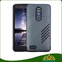 Wholesale Iphone Blade Design - for Zte blade Max XL N9560 slim cover and case 2 layer design defender case for ZTE Prox Z986