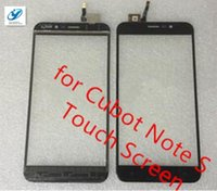 Atacado- CUBOT Note S Touch Screen 1280X720 HD 5.5inch Digitizer Assembly Substituição para celular