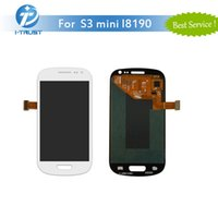 Wholesale Display Galaxy S3 Mini - Excellent LCD For Samsung For Galaxy S3 Mini i8190 LCD Digitizer Display Screen Assembly Black or White With Free DHL Shipping