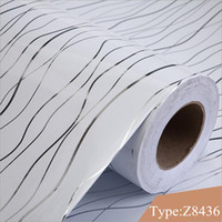 Wholesale Roll Chart - 3Meters Roll Self adhesive wallpapers flower waterproof PVC wall paper for bedroom kitchen wardrobe cabinets vinyl sticker paper