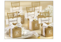 Wholesale Chair Favors - PASAYIONE Gold Silver Kawaii Chair Pattern Candy Boxes For Wedding Favors And Gifts Wedding Table Centerpieces Casamento Decor