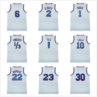 Wholesale Movie Space Jam Tune Squad TAZ Bugs Bunny Daffy Duck Tweety Bird Lola Bunny Bill Murray Basketball Jersey black white