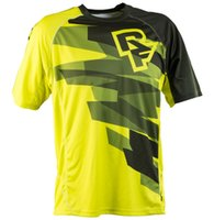Wholesale Motocross Motorcycle Jersey - Hot sell 2017 RACEFACE AM RF motorcycle moto gp Jerseys motocross MTB DH MX Jersey Bicycle Cycling Bike downhill Jersey Fast Dry Smooth