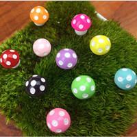 ingrosso piante in miniatura-Fai da te Tiny Funghi Giardino Terrario Home Decor Artigianato Bonsai Bottiglia Miniature Piante Tavolo Micro Paesaggio Decorazione