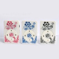 Wholesale Wholesalers Only For Watches - Wholesale- Wholesale Quality Clip ONLY Flower MP3 Music Player with TF Card Slot for leisure (no accessories)