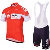estoy en bicicleta al por mayor-3 colores 2017 I AM jerseys de ciclo jerseys baberos Ropa Ciclismo 100% poliéster de secado rápido equipo pro bicicletas camisetas fondos traje