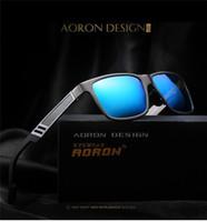 Wholesale Magnesium Sale - Wholesale hot sales sunglasses for men HD Aluminum Magnesium Men Sports Driving Fishing Polarized Sunglasses Goggles Eyewear
