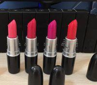 Wholesale bite lipstick for sale - Group buy Retro Matte Lipstick Aunt Red dark burgundy M Lipstick Waterproof do not fade Makeup Lip Stick Lasting Lip Gloss Bite lips with english name