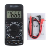 9205A Tragbare Digital Multimeter AC / DC Spannung Strom Widerstand Kapazität Voltmeter Amperemeter Multi Tester LCD Display