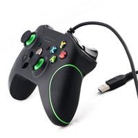 xbox one video games venda por atacado-USB wired controlador para xbox one slim videogame joystick mando para microsoft xbox one s controle joypad gamepad para o windows pc