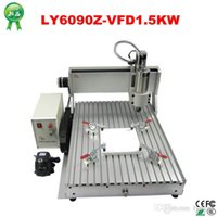 Wholesale Water Cooled Cnc Router - 1500W CNC Router LYCNC6090Z-VFD 3axis CNC engraving Machine with water cooled spindle