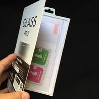 caja de cristal templado xperia 2.5d al por mayor-Protectores de pantalla de cristal templado premium para Sony Xperia X, XA, XZ, X Compact, C3, C5, Z5, E5 para LG V20 V10 K10 K8 0.3MM 2.5D 9H Film + caja al por menor